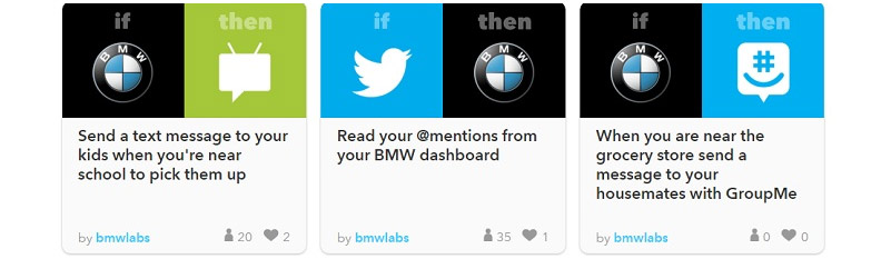 What Would You Do With IFTTT and BMW Labs? | BMW in KY